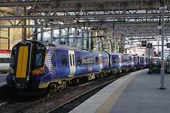 380107, Glasgow Central, March 2nd 2016 (Southsea_Matt) Tags: railroad travel public station train canon march scotland spring transport siemens railway scotrail vehicle emu passenger carstairs 1855mm ayr juniper strathclyde 2016 glasgowcentral edinburghwaverley 60d class380 380107