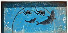 Dahab 2016 - Graffiti on Peace Road by Ahmed 01 (Markus Lske) Tags: street streetart art graffiti mural arte kunst dahab egypt urbanart graffito muralha gypten sinai aegypten lueske lske