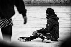 Need a hand? (MacCabri) Tags: blackandwhite ice monochrome canon copenhagen eos skate 70200mm 70d