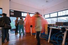 Eavesdrop (architecturegeek) Tags: seattle art architecture design walk space hill nerds capitol inflatable popup hybrid 2016 eavesdrop designnerds hybridspace inflatablearchitecture capitolhillartwalk seattledesignnerds