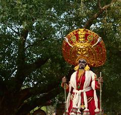 kaali (Abino Sajan) Tags: portrait india festival temple kerala divine ritual malayalam godess kaali kattakampal