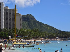 Honolulu, Hawaii (Jasperdo) Tags: hawaii diamondhead honolulu waikikibeach