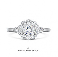 Hot From The Oven (dhjewellers) Tags: scotland edinburgh diamond proposal platinum weddingplanning threestone edinburghjewellers edinburghproposal