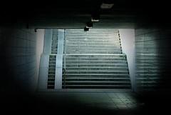 (Px4u by Team Cu29) Tags: leer tunnel treppe neugier ulm lampen unterfhrung furcht befrchtung