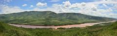 Huallaga river valley (orientalizing) Tags: panorama peru clouds landscape verdant amazonbasin huallagariver sanmartinprovince tarapotodistrict