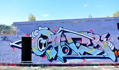 saner (SaNeR hVa KgB) Tags: terrain paris france art rooftop colors wall writing painting graffiti fat tag letters can spot peinture writer lettering graff aerosol typo mur couleur bombe abandonned lettres kgb wildstyle hva handstyle lettrage saner ptdq