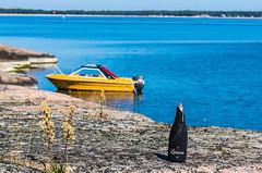IMGP1772 copy (Tapio Kekkonen) Tags: summer moon beach sunrise sailing hanko subset bech finlad