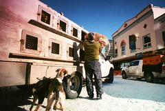 Porst SP Fairbanks Sled Dog Race 7 () Tags: winter dog snow alaska race fur sale sled fairbanks trapper 2014