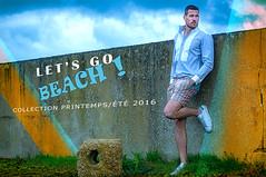 LET'S GO BEACH ! #1 (J#K) Tags: summer beach fashion spring collection t mode printemps homme menswear 2016