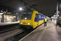 NS 186-006 met Intercity Direct Stam ([Publicer Transport] Ricardo Diepgrond) Tags: rotterdam ns loc direct 006 intercity centraal traxx bds icrm 1486 186006
