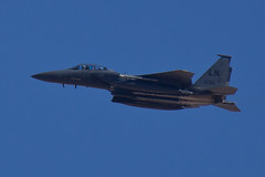 F-15E (gorbould) Tags: airplane fighter lasvegas military jet airforce base f15 nellis lakenheath strikeeagle roadtrip2013