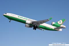 B-16106 - McDonnell Douglas MD-11(F) - EVA Air Cargo (KarlADrage) Tags: alaska anchorage anc md11 mcdonnelldouglas md11f panc threeholer evaaircargo b2179 b16106 tedstevensintl