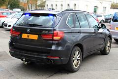 Warwickshire Police Unmarked BMW X5 Armed Response Vehicle (PFB-999) Tags: car 4x4 police covert bmw vehicle leds guns plain warwickshire grilles response unit firearms armed x5 unmarked constabulary arv warks fendoffs dashlight