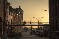 Hamburg Sunset (Andrew:D) Tags: city travel sunset sky urban sun building tourism architecture clouds canon germany harbor cityscape harbour hamburg himmel wolken stadt architektur hh hafen speicherstadt hafencity hansestadt norddeutschland northerngermany hanseaticcity hansestadthamburg canoneos60d efs1585mm