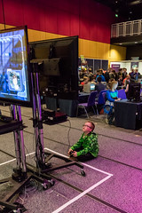 Insomnia 30-04-2016--103 (Philip Gillespie) Tags: city family pink blue boy red portrait people orange woman white playing man blur green girl up kids canon children photography prime scotland photo edinburgh play dress purple cosplay events young computers games snaps conference insomnia activities esport eicc multiplay bokah sequent