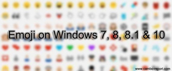 របៀបបើកអោយមាន Emoji នៅលើ Keyboard សម្រាប់កុំព្យូទ័រ!