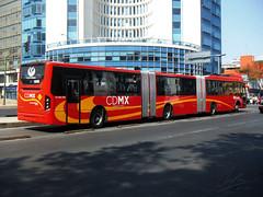 Volvo 7300 UpGrade Biarticulado CE4-17MSA-1304-B (tonypatriot2901) Tags: méxico de volvo ciudad upgrade metrobus 7300 biarticulado metrobús cdmx ce417msa1304b