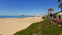Albufeira (daniel EGV) Tags: ocean sea mer beach portugal water seaside sable cliffs atlantic algarve plage albufeira sans falaises altantique