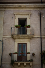 Italian doors, windows and mailboxes (Flavio~) Tags: day2 wedding italy window sicily oct2015 syracusaortigia