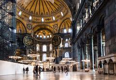 Hagia Sofia (Nomadic Photographer) Tags: church architecture turkey sofia istanbul mosque wanderlust hagiasofia sultanahmet hagia