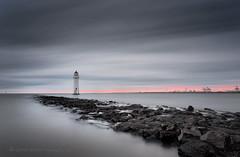 RETURN (lynneberry57) Tags: longexposure seascape canon coast wirral merseyside rivermersey 70d perchrocklighthouse leebigstopper