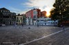 As the sun sets on Campo San Polo in Venice... (Rex Montalban Photography) Tags: venice italy europe rexmontalbanphotography