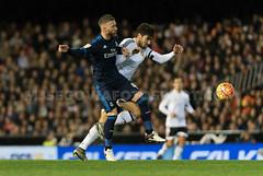 Valencia - Real Madrid (mjsegoviafoto) Tags: valencia mestalla realmadrid sergioramos ligaespanola ligabbva jornada18 andregomes