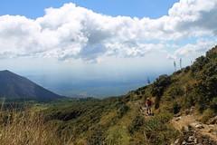 Hiking Thoughts (Fatti Peñate) Tags: clouds outside volcano rocks dad outdoor hiking thoughts elsalvador santaana volcan volcandesantaana elsalvadorimpresionante