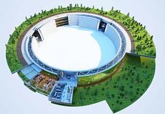 Концепция альтернативного использования старых электростанций от Cypher CO2ling Plant