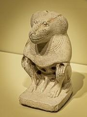 Seated Baboon Egypt Third Intermediate Period 23rd Dynasty (?) 800 BCE (mharrsch) Tags: seattle animal statue mammal washington ancient egypt baboon figurine seattleartmuseum 8thcenturybce mharrsch thirdintermediateperiod 23rddynasty
