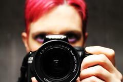 Canon (valerologan) Tags: canon reflex foto rosa fotografia specchio macchinafotografica capelli