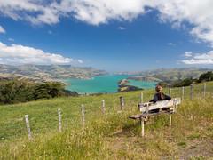 Akaroa Dreaming (Saaliahc) Tags: newzealand sky nature colors landscape landschaft neuseeland omdm5