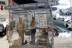 WWII Battle of Midway 1942 Display (NTG's pictures) Tags: usa museum florida aviation wwii battle national 1942 midway naval pensacola