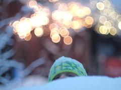Bokehilarious! (Simon Finland) Tags: winter canon lights bokeh olympus 55mm fd ep1 f12