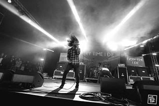 Every Time I Die // Shot by Carl Battams
