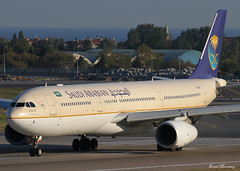 Saudi Arabian Airlines A330-300 HZ-AQB (birrlad) Tags: turkey airplane airport ramp ataturk taxi aircraft aviation airplanes istanbul terminal apron international airline airbus saudi arabian jeddah airways airlines departure ist takeoff a330 airliner departing taxiway a333 a330300 a330343 hzaqb