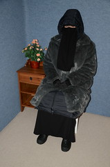 I have so hot!!! (Buses,Trains and Fetish) Tags: winter hot girl warm coat hijab torture sweat niqab slave burka chador
