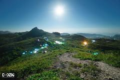 Camping under the moon (Dodzki) Tags: moon mountains nikon philippines d610 14mm osmeapeak samyang rokinon cebumountains nikond610