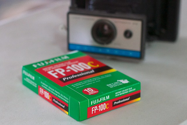 2016/366/22 Got Film for the Polaroid Camera