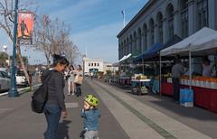 Farmers Market - Embarcadero 2-2016 (daver6sf@yahoo.com) Tags: farmersmarket scooter fruitstand partyover portofsanfrtancisco superboul50 superboulcity