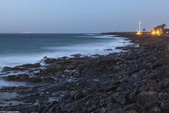Early Morning Near Faro de Pechiguera (LilFr38) Tags: ocean longexposure lighthouse sunrise lanzarote far playablanca leverdesoleil canaryisland ocan expositionlongue ilescanaries canonef24105mmf4lusm lilfr38 canoneos5dmarkii puremorningplacebo