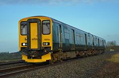 GWR Green 150232, Charfield (sgp_rail) Tags: new colour green train logo diesel branded great rail railway gloucestershire class 150 western multiple scheme glos unit refurbished gwr livery sprinter charfield dmu 150232