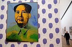 "Andy Mao (Jerzy Durczak (a.k.a."" jurek d."")) Tags: berlin painting mao warhol galler"