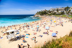 Coogee Beach (some guy called Darren) Tags: travel summer vacation sun beach sand oz sydney australia coogee