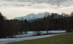 28. Jnner 2016: Der Schnee zieht sich zurck (Gertraud-Magdalena) Tags: winter jnner schneeschmelze tennengebirge