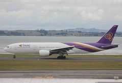 HS-TJT (Photos from New Zealand and elsewhere) Tags: boeing akl tha 777200 b772 nzaa hstjt