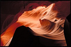 light & lines (travelben) Tags: red arizona orange usa lake abstract art nature colors rock america lights nationalpark sandstone native curves surreal wave canyon line caves upper page antelope powell americans geology lower navajo slot curve canyons ligne grottos courbe watererosion