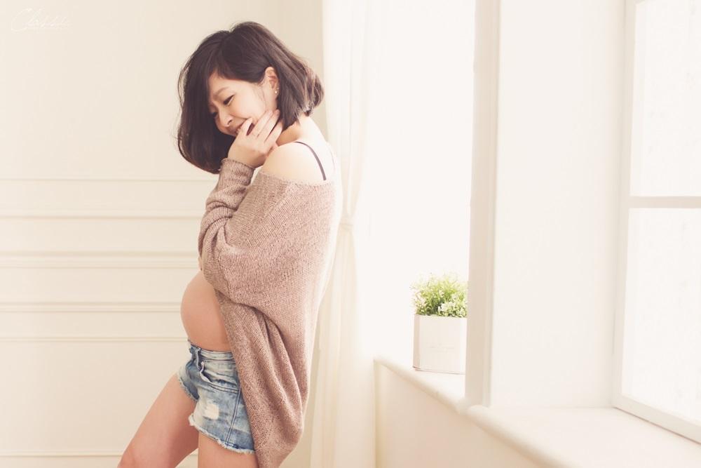 自然清新孕婦寫真
