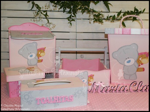 "Conjunto ""Pinky Baby Bear""."