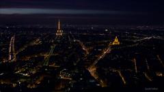 Paris (Gerald Wollner) Tags: city paris france night canon lights tour nacht eiffel stadt eiffelturm montparnasse canoneos6d